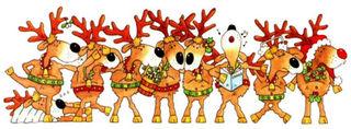 Reindeers banner