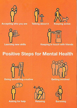 Positive steps to mental health